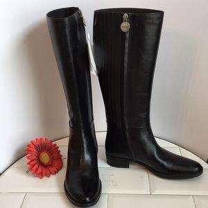 GEOX. Respira. Tall Boot Black. Size 6 New